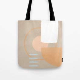 Simple shapes boho minimalist design Tote Bag