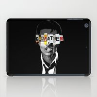 the godfather iPad Cases featuring Godfather Mix 1 black by Marko Köppe