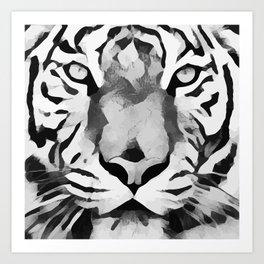 Ozelot Tiger Art Print