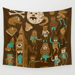Wow! Werewolves!  Wall Tapestry