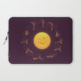 Sun Salutation Laptop Sleeve