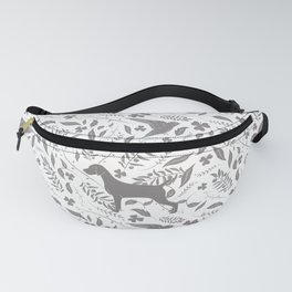 WEIMS AND BIRDS Fanny Pack