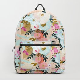 Florence Painterly Floral Backpack