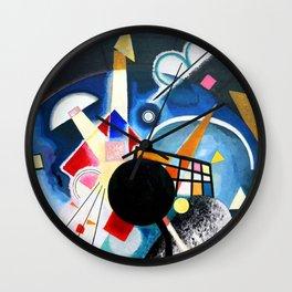 Wassily Kandinsky - A Center 1924 Wall Clock
