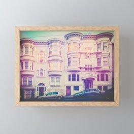 San Francisco Glow Fine Art Print Framed Mini Art Print