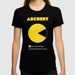 3D ARCHERY >>-------> 10 Ring Pac Man? T-shirt