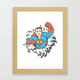 SuperTimmy 3 Framed Art Print