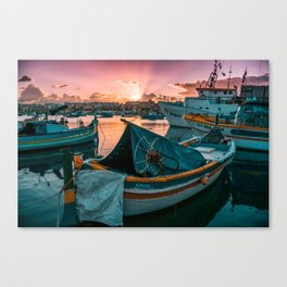 Malta #society6 #decor #buyart Canvas Print
