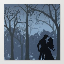 I walked with you once upon a dream (Sleeping Beauty) Canvas Print