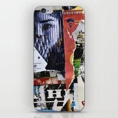 Urban collage iPhone & iPod Skin