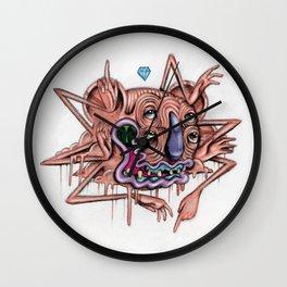 Pink Thing Wall Clock