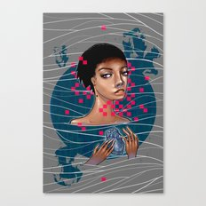 cold as heart Canvas Print