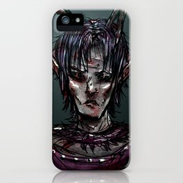 Misfortune iPhone Case
