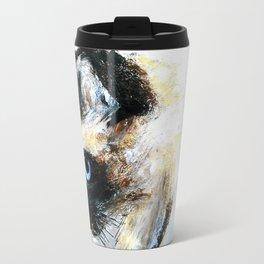 Siamese Cat Unedited Travel Mug