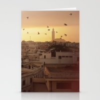casablanca Stationery Cards featuring Casablanca by GF Fine Art Photography