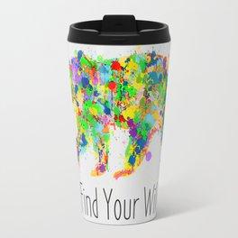 Find Your Wild Travel Mug