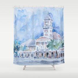 City hall in Sombor Shower Curtain