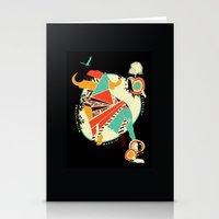 buffalo Stationery Cards featuring Buffalo by Dimitra Tzanos