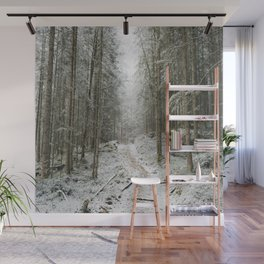 For now I am Winter - Landscape photography Wall Mural