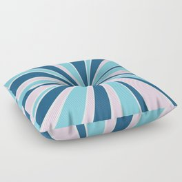 Starburst Pink and Blue Floor Pillow