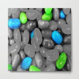 Blue jelly Metal Print