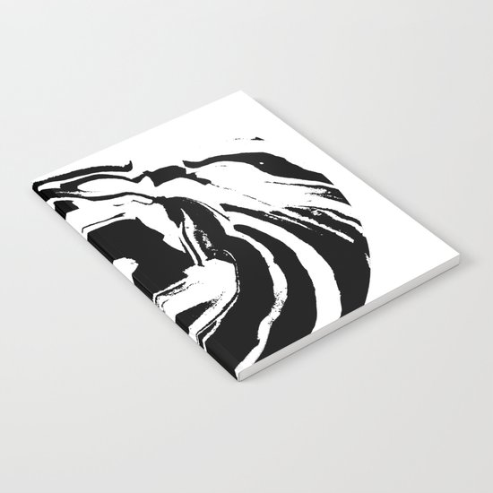 World's Threshold Black and White Marbling, Marbles Lost Notebook