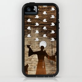 Saint Francis of Assisi iPhone Case