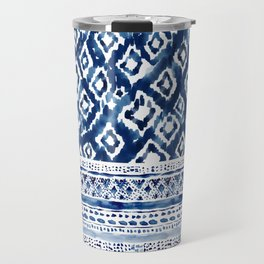 DIVVY UP DIAMONDS Ikat Travel Mug