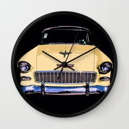 Vintage Chevy Wall Clock