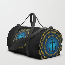 Fish & Anchor Duffle Bag