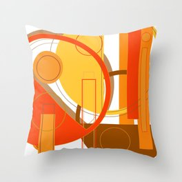 Typography: Orange You Glad I Didn't Say Banana Throw Pillow