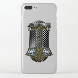 Tribute to Thor Clear iPhone Case