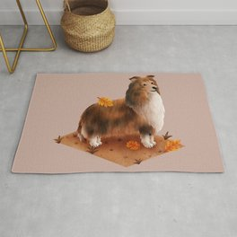 Rough Collie (Shetland Sheepdog) Rug