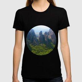 Meditation up to Meteora | Greece | Nature T-shirt