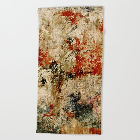 Year of the Rooster Beach Towel