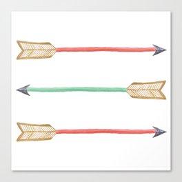Tribal Arrows Art Canvas Print