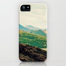 Denali Mountains iPhone Case