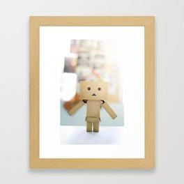 Savior Danbo Framed Art Print