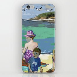 Esmeralda & Brood (Saw Sea Art Series) iPhone Skin