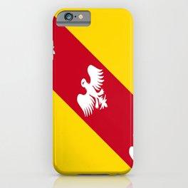 flag of lorraine iPhone Case