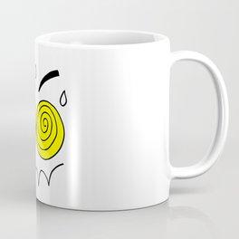 Hand drawn funny face Coffee Mug
