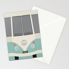 Vintage classic Van Stationery Cards
