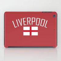 liverpool iPad Cases featuring Liverpool by Earl of Grey