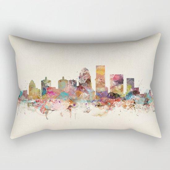 louisville kentucky skyline Rectangular Pillow