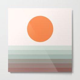 Sunseeker 16 Landscape Metal Print