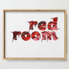 red room Serving Tray