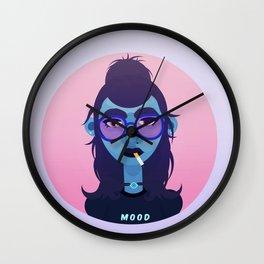 Grunge Monster Wall Clock