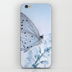 Butterfly Blue iPhone & iPod Skin