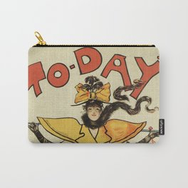 To-Day Dudley Hardy 1895 Carry-All Pouch