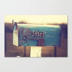 2 0 5 0 2 { you've got mail series} Canvas Print